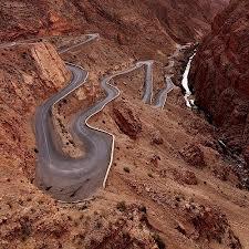 Stichting Nour weg naar Ouarzazate
