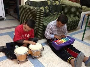 Muziek op school stichting Nour